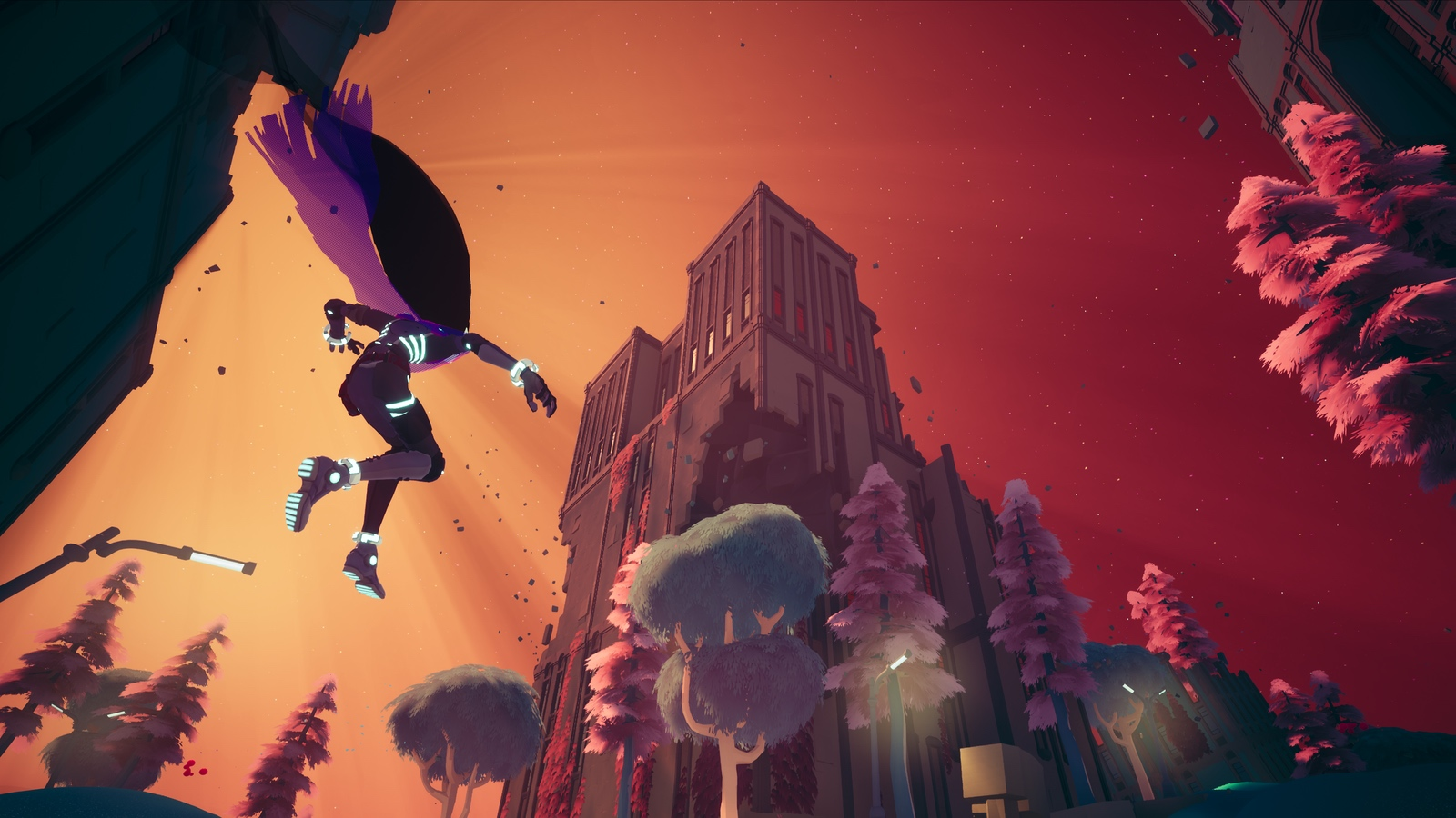 'Solar Ash' brings surreal 3D platforming to PC, PS4 and PS5 on October 26th