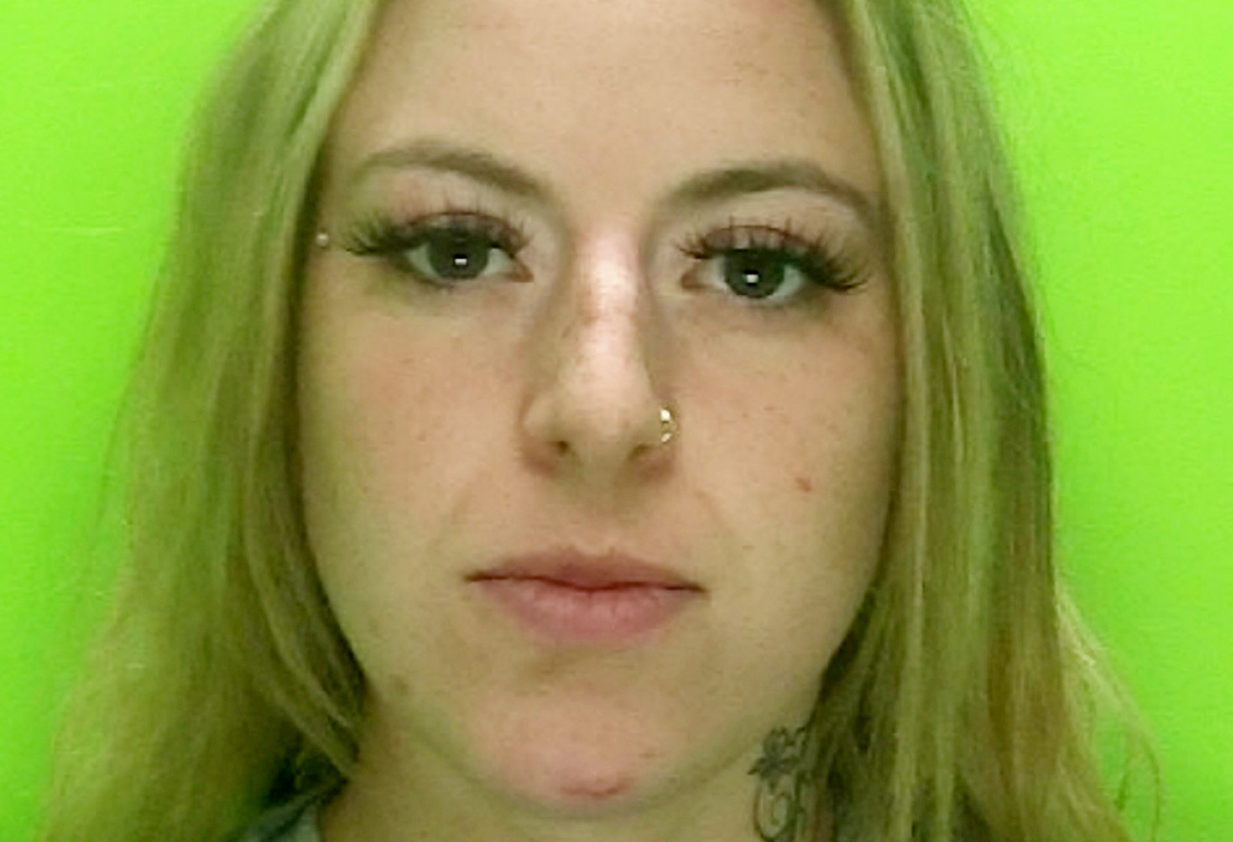 Woman jailed for stabbing man so hard between the eyes that knife penetrated his brain