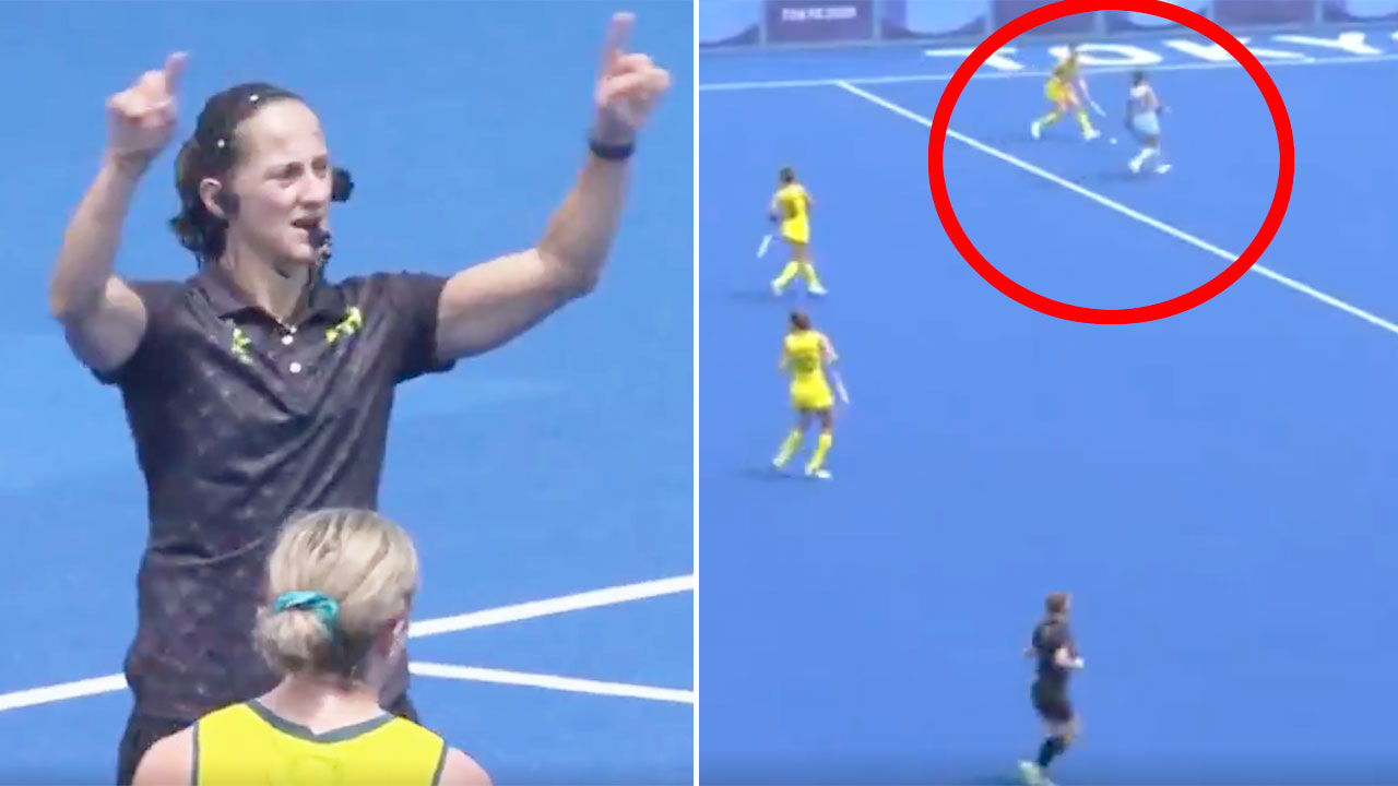 'Terrible sportsmanship': Hockeyroos outraged by 'disgraceful' act
