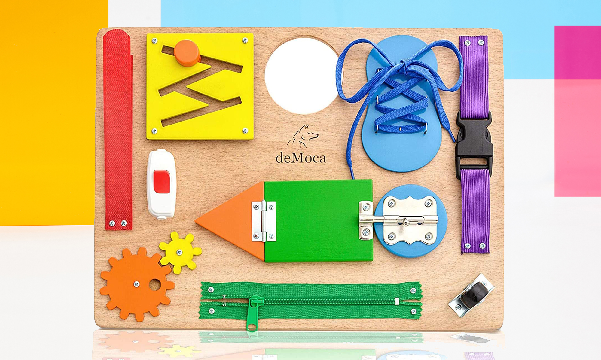 Montessori Busy Board for Engadget's 2021 Back to School guide.
