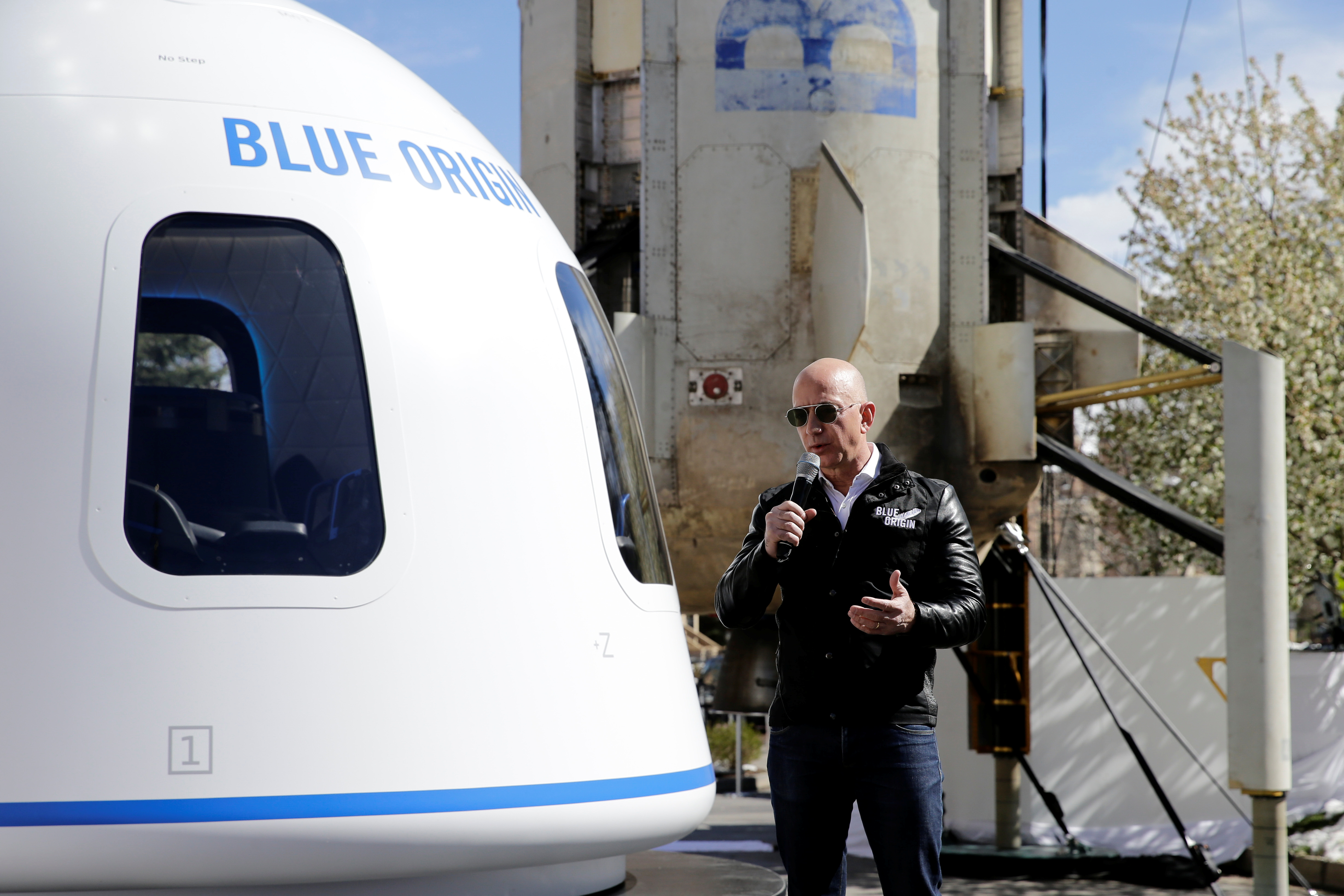 Blue Origin received FAA approval for its first human spaceflight on July 20th