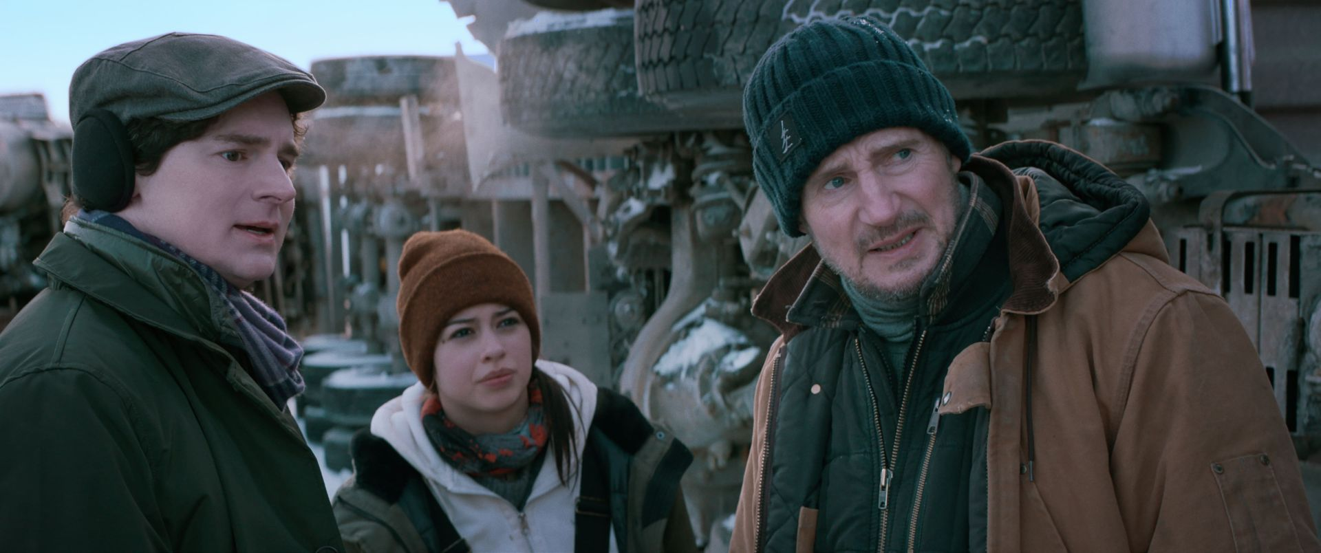 亿万巨星连恩尼逊再次演出动作强片《疾冻救援》力抗恶劣环境与危险杀机
