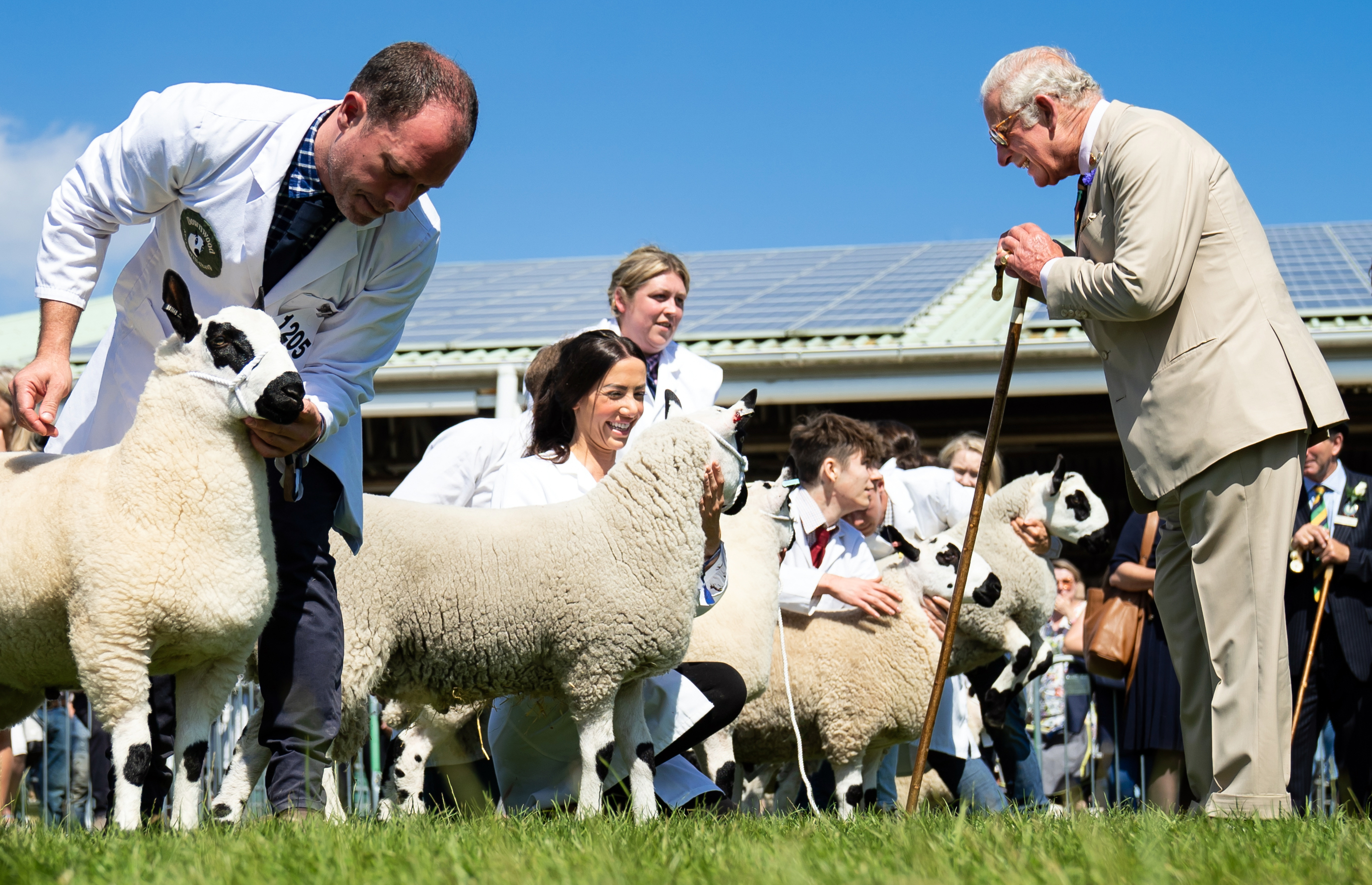 <p>The Prince of Wales during a visit to the Great Yorkshire Show at the Great Yorkshire Showground in Harrogate, North Yorkshire. Picture date: Thursday July 15, 2021.</p>