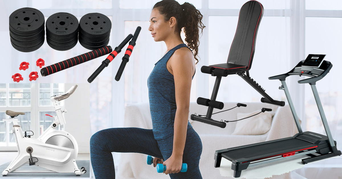 Exercise bikes, treadmills and weights to keep you fit during lockdown