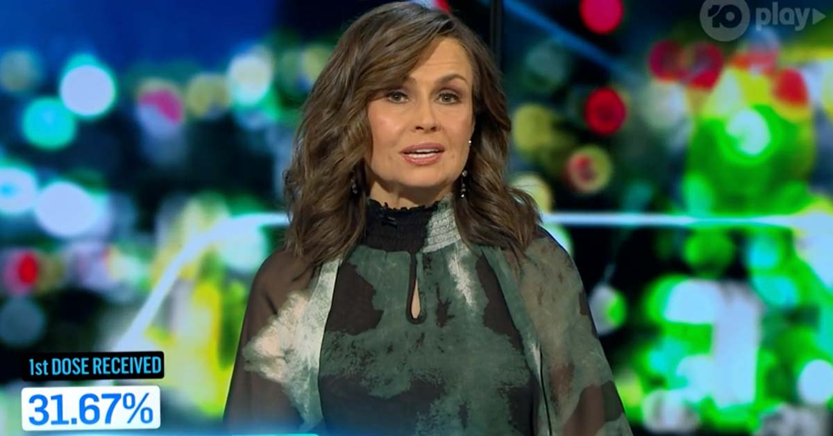 Lisa Wilkinson warns 'the game has changed' after NSW's record Covid numbers