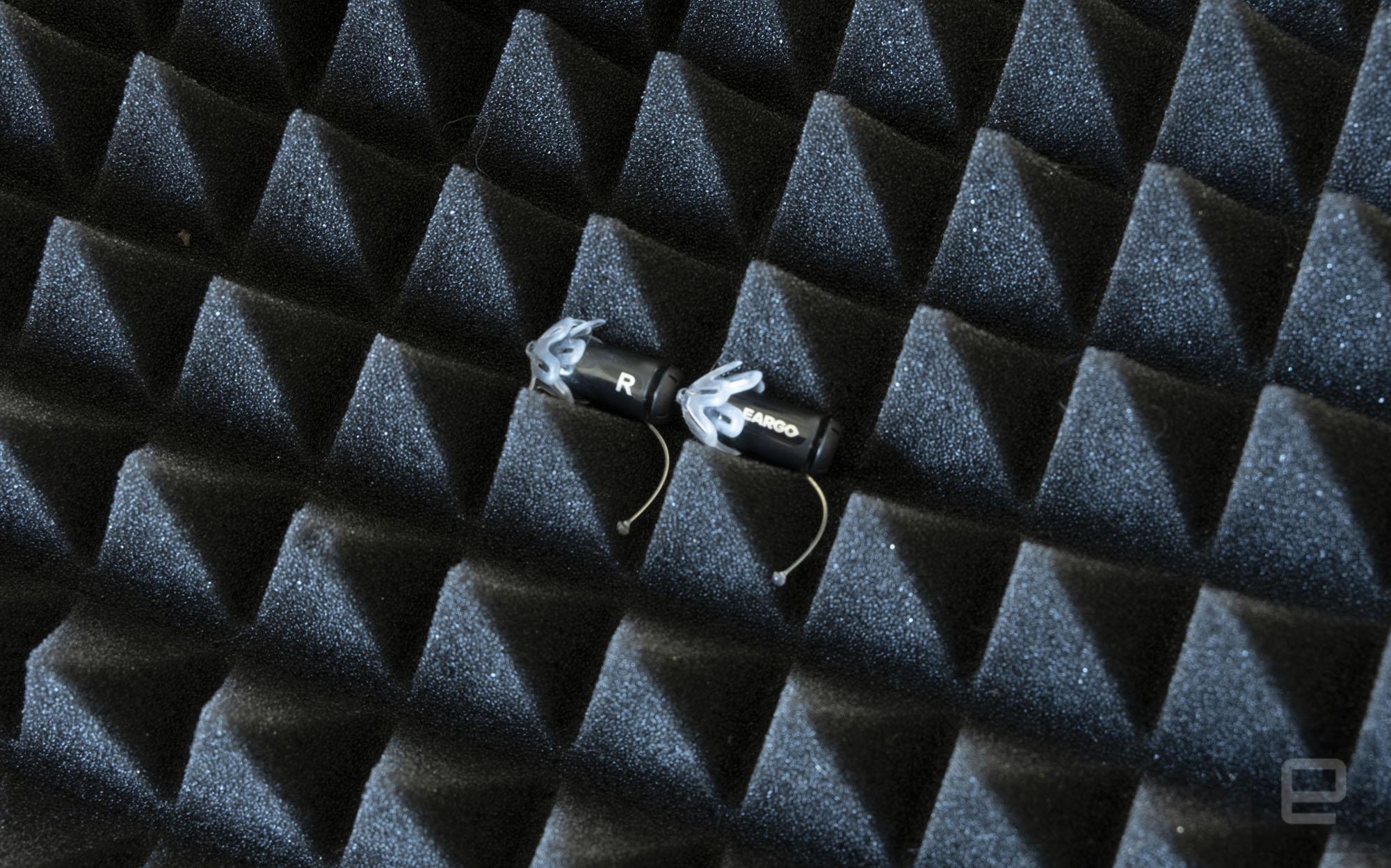 Eargo 5 smart hearing aid.
