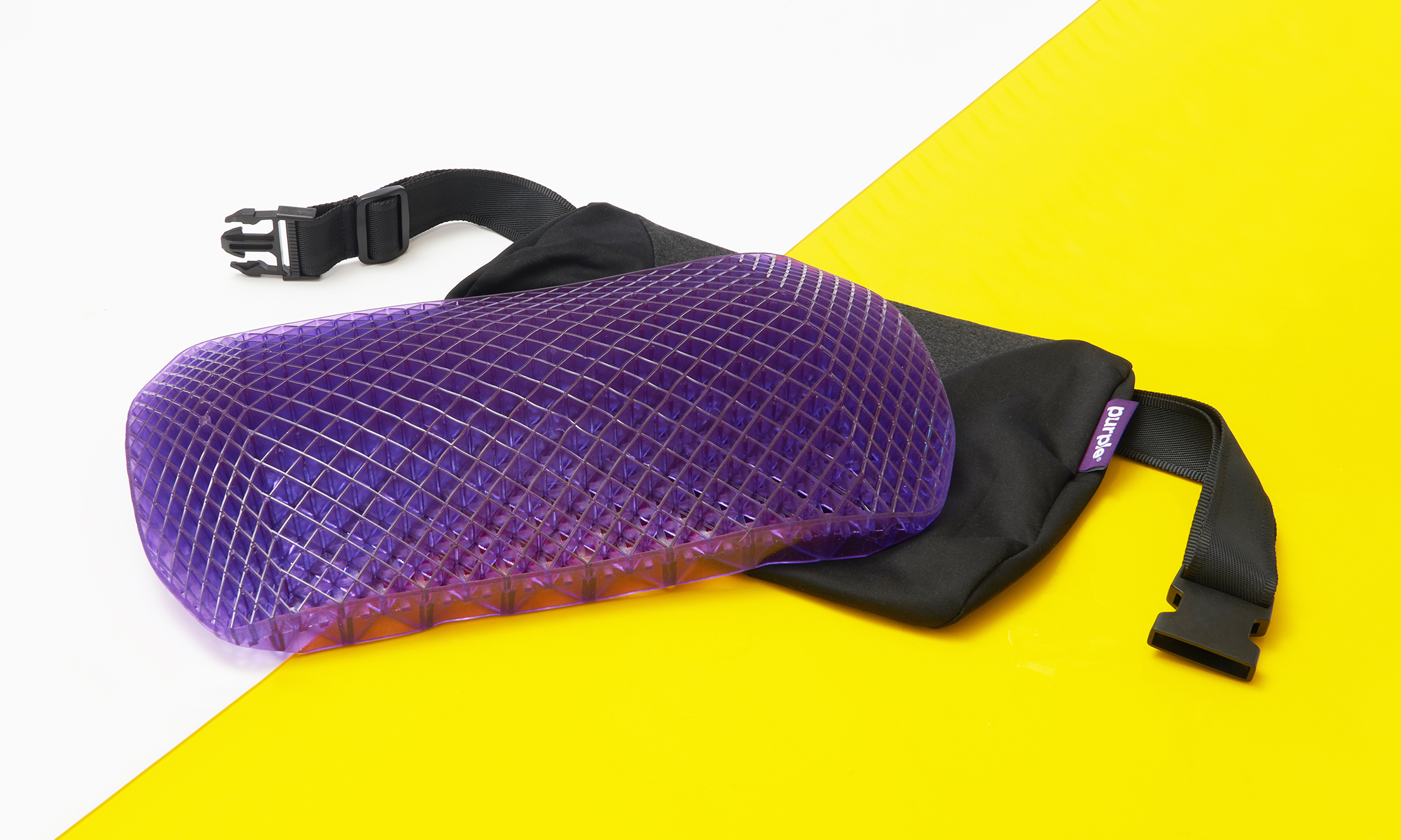 Purple Back Cushion
