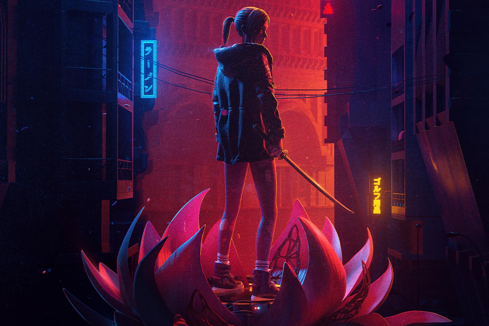 Blade Runner: Black Lotus trailer shows Replicant on the run