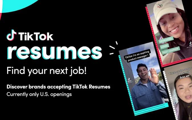 TikTok Resumes