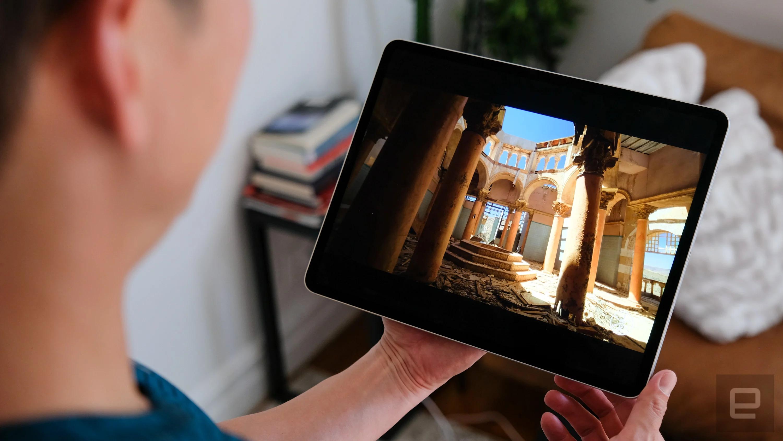 OLED iPad