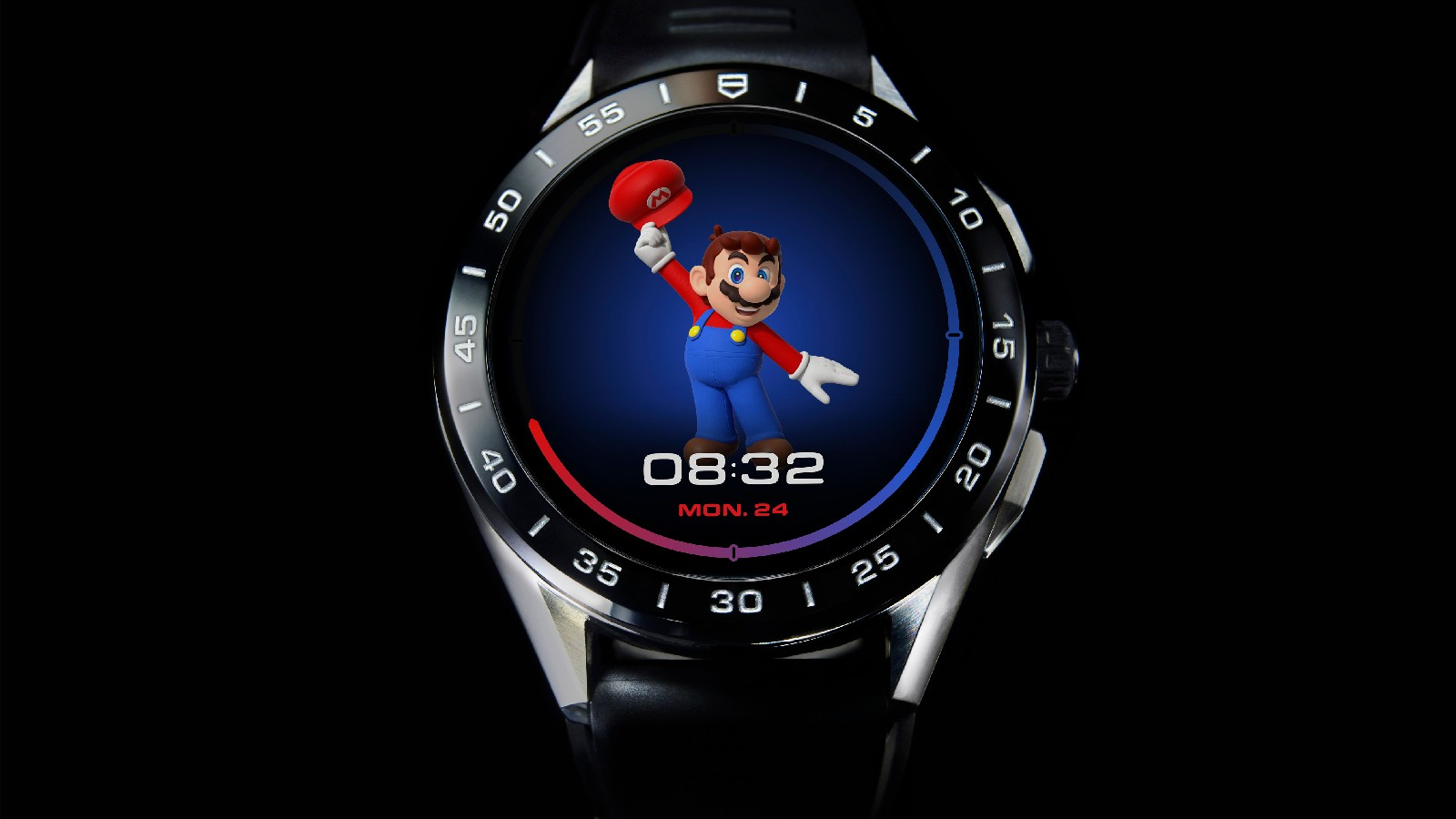 Tag Heuer made a Super Mario-themed smartwatch so why not