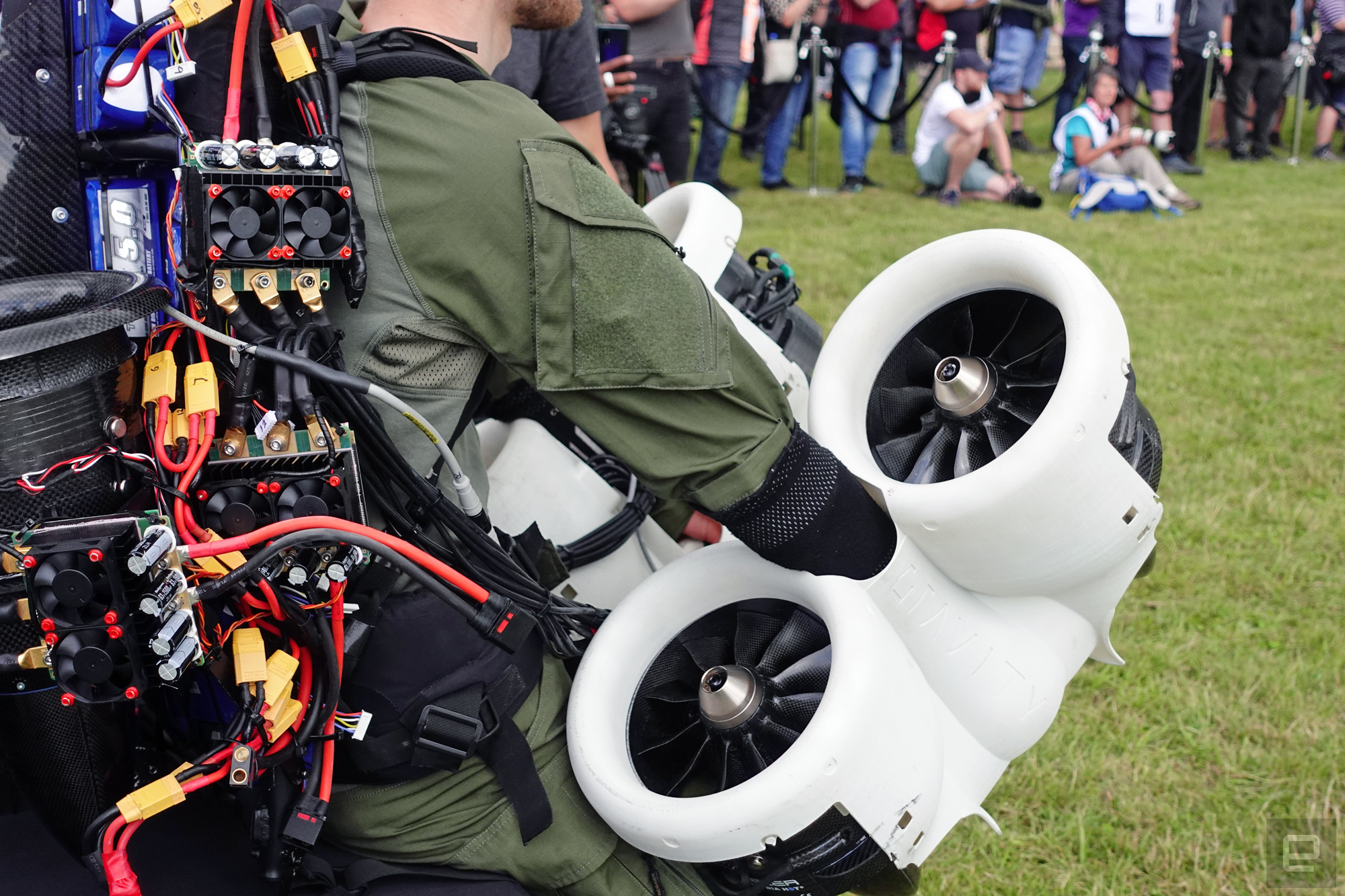 What is driving Gravity Industries 'jet suit