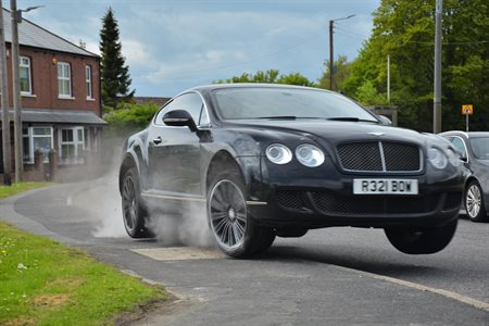 Drunk driver jailed after leading police on 130mph chase in Bentley while high on cocaine