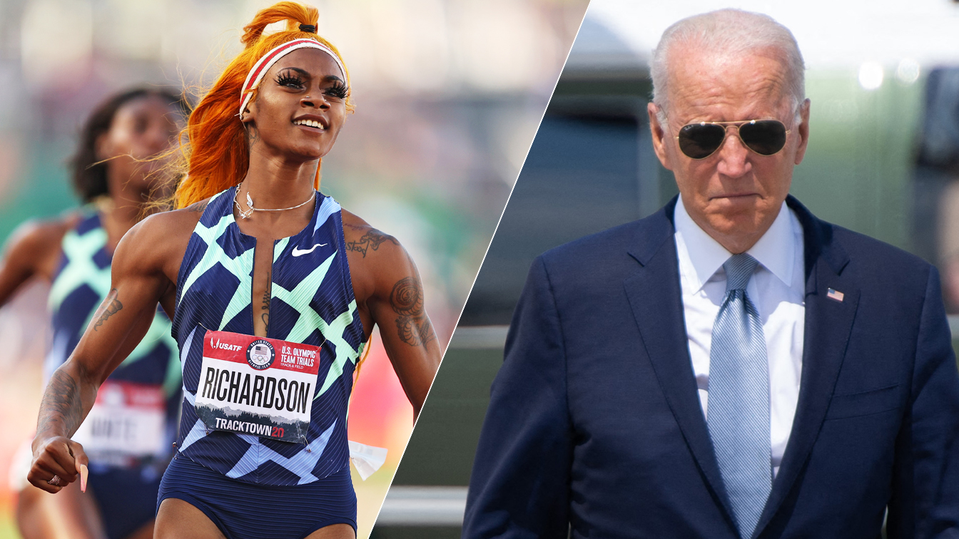 Sha'Carri Richardson suspension underscores frustration with Biden's marijuana policy