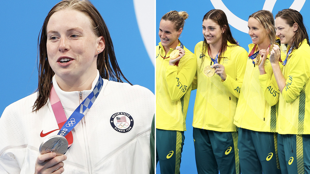 Aussie swimmers brutal mockery of American's cocky call