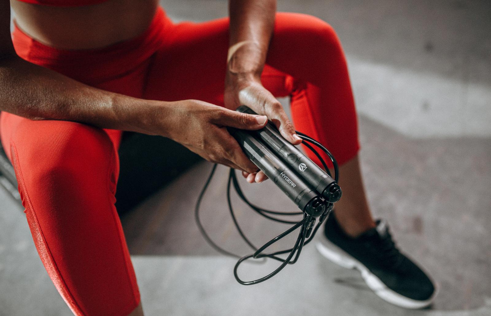 Hyrope, antrenmanınızı takip etmek için bir uygulamayla eşleşen akıllı bir atlama ipidir | Engadget