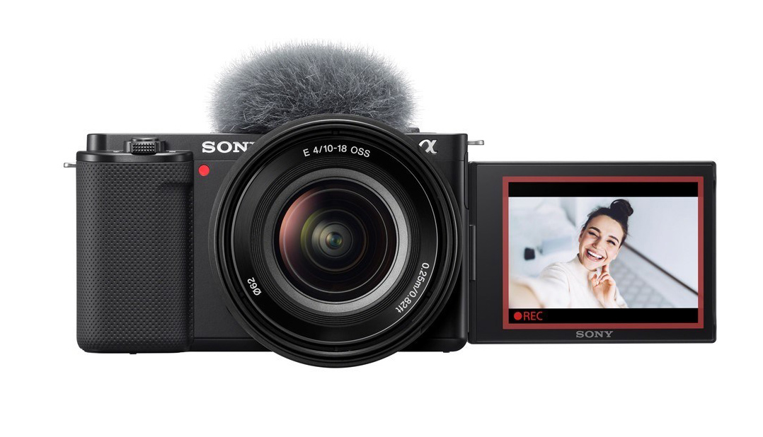 Sony ZV-E10 Adds Interchangeable Lenses To Vlog Camera Series