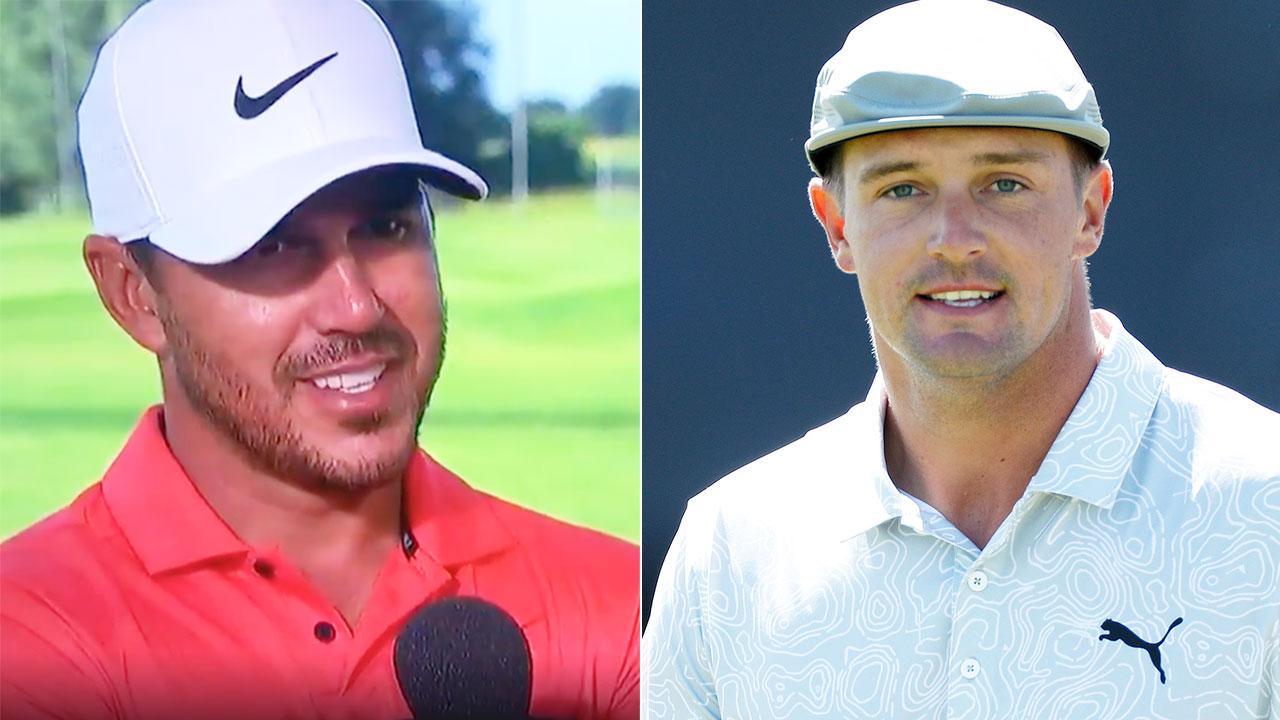 Golf world reacts to Open rival's 'petty' Bryson Dechambeau sledge