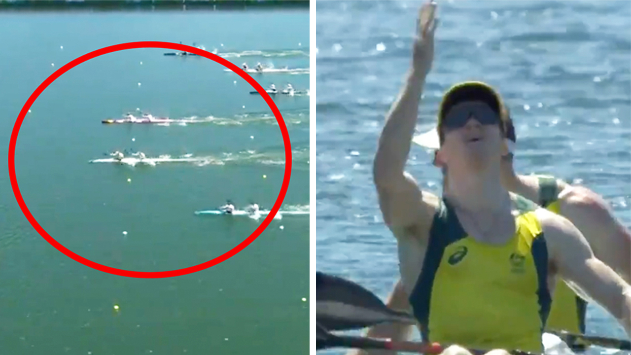 'What a race': Australia wins 'gutsy' gold in thrilling kayak final