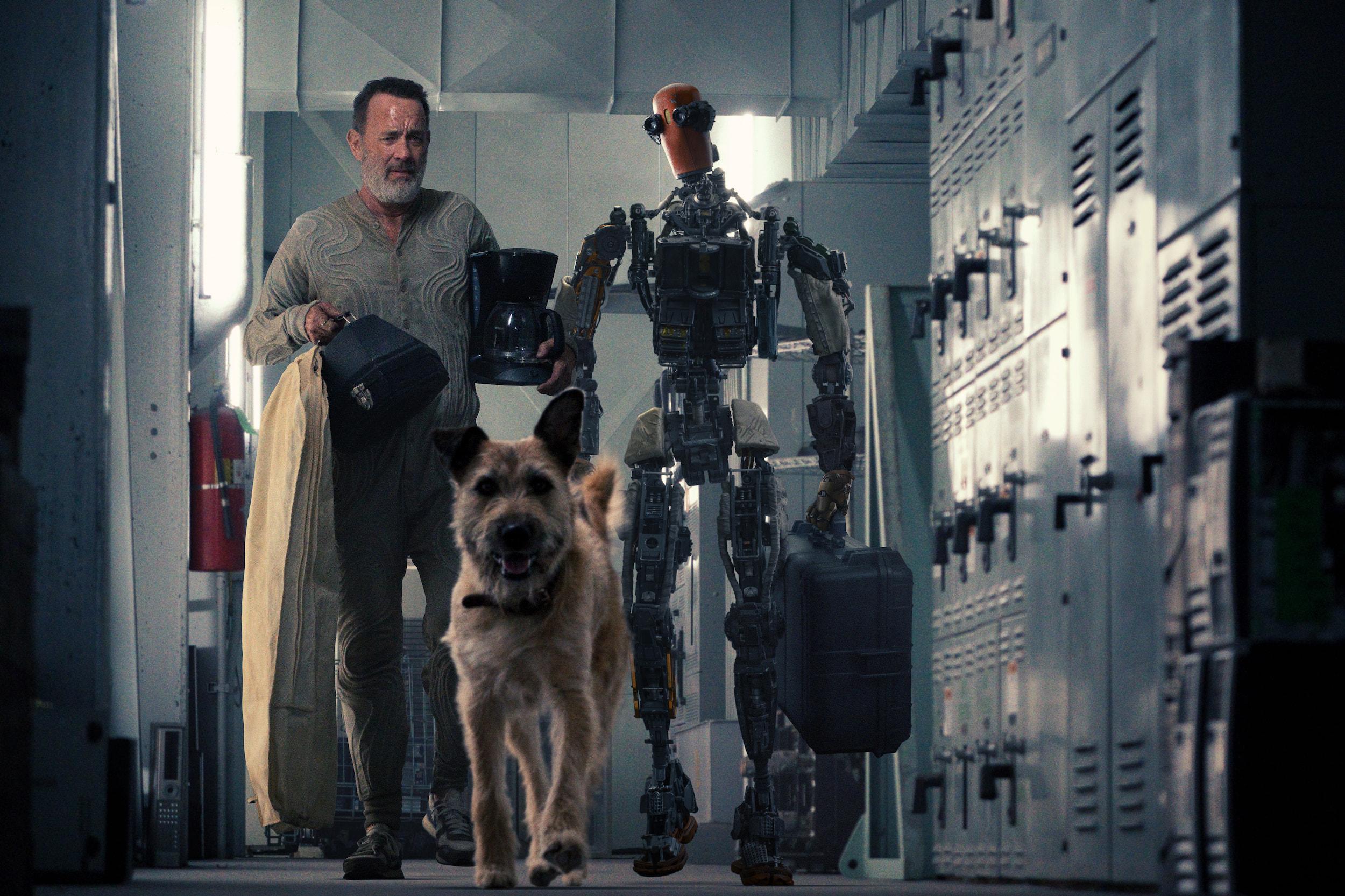 Apple''s Tom Hanks sci-fi movie ''Finch'' arrives November 5th