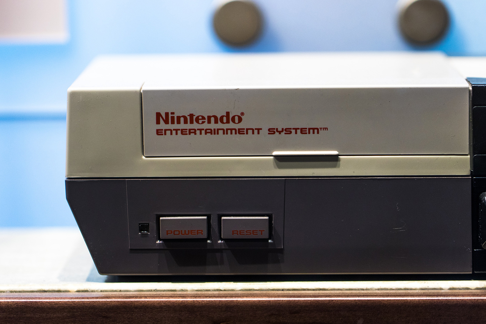 NES game console