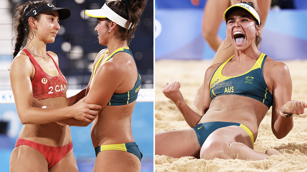 Aussies upset World No.1 in beach volleyball boilover at Olympics