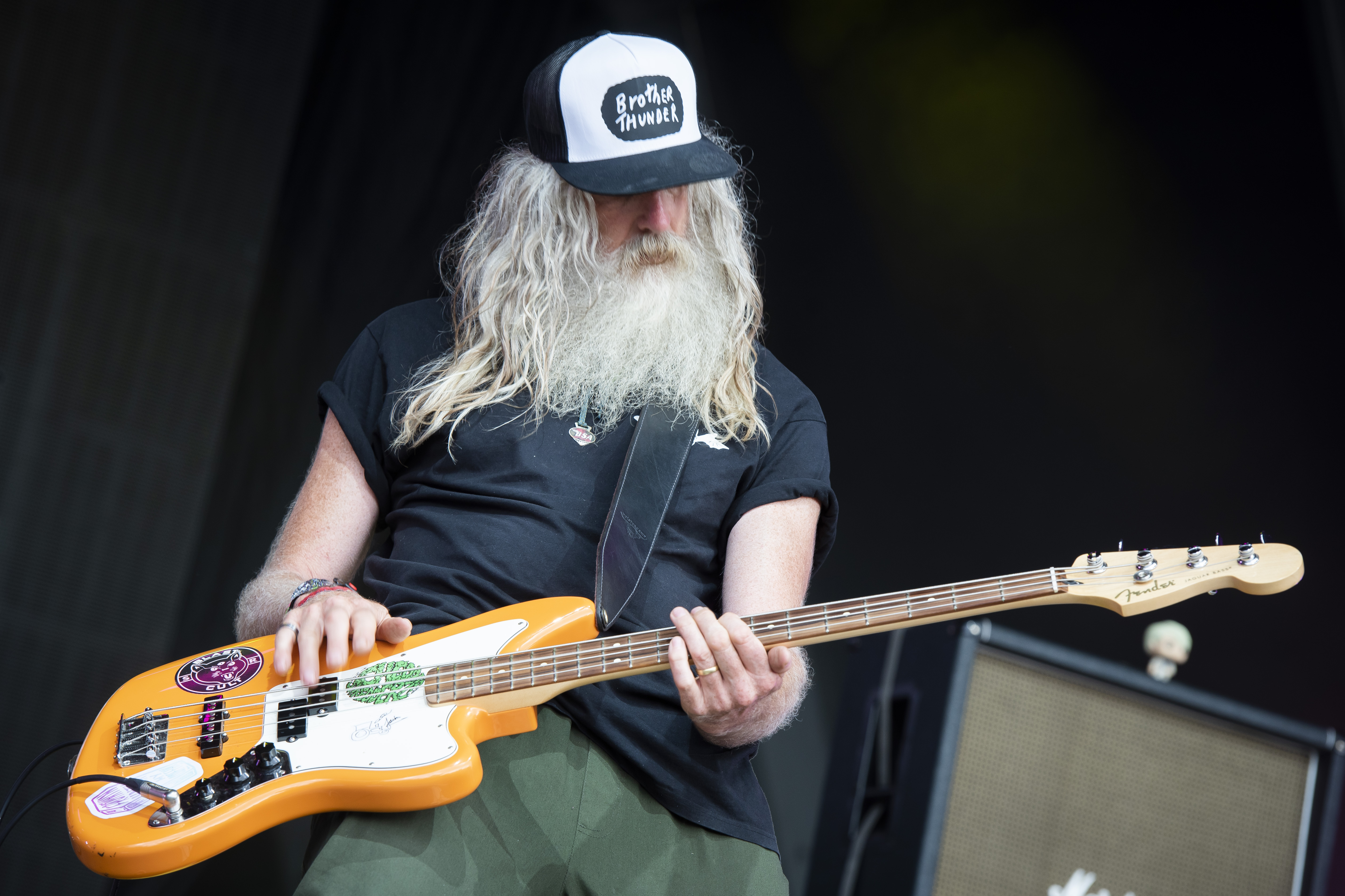 <p>Jack Bessant from Reef performs live on the Castle stage on day 3 of Camp Bestival at Lulworth Castle - Wareham. Picture date: Sunday 1st August 2021. Photo credit should read: David Jensen/EMPICS Entertainment</p>