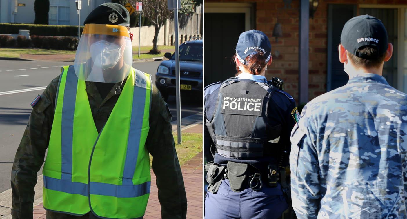 'Like North Korea': Sydneysiders react to Army Covid enforcers
