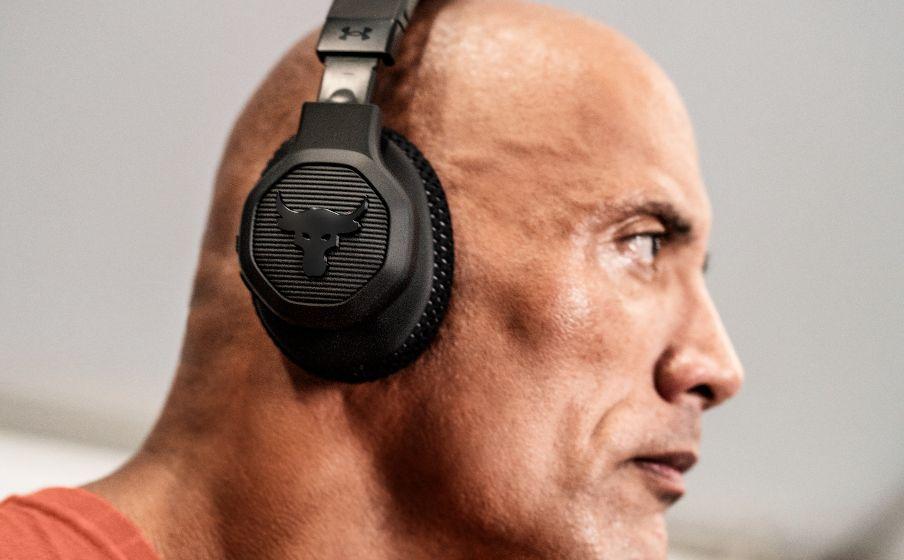 The Rock'ın yeni Under Armor kulak üstü kulaklıkları ANC ve 45 saatlik pil ömrü sunuyor | Engadget