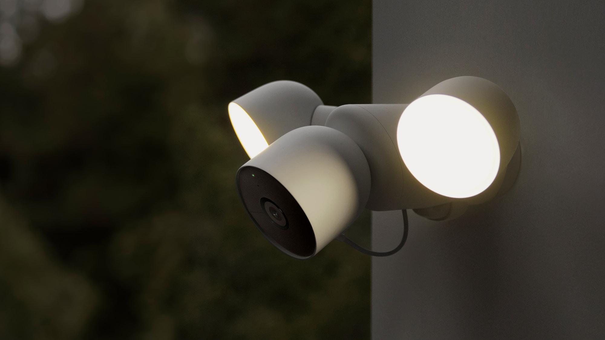 Google Nest Cam with floodlight