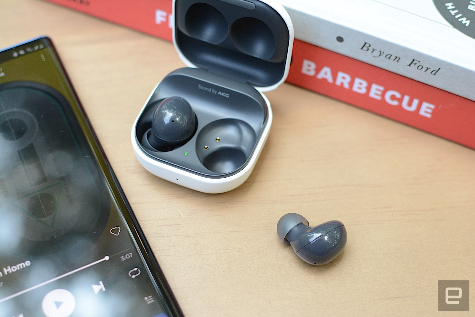 With the Galaxy Buds 2, Samsung adds active noise cancellation to its most affordable true wireless earbuds. This successor to the Galaxy Buds+ are smaller and more comfortable with premium features like wireless charging and adjustable ambient sound. However, ANC performance is only decent and there's no deep iOS integration like previous models. Still, at this price, Samsung has created a compelling package despite the sacrifices.