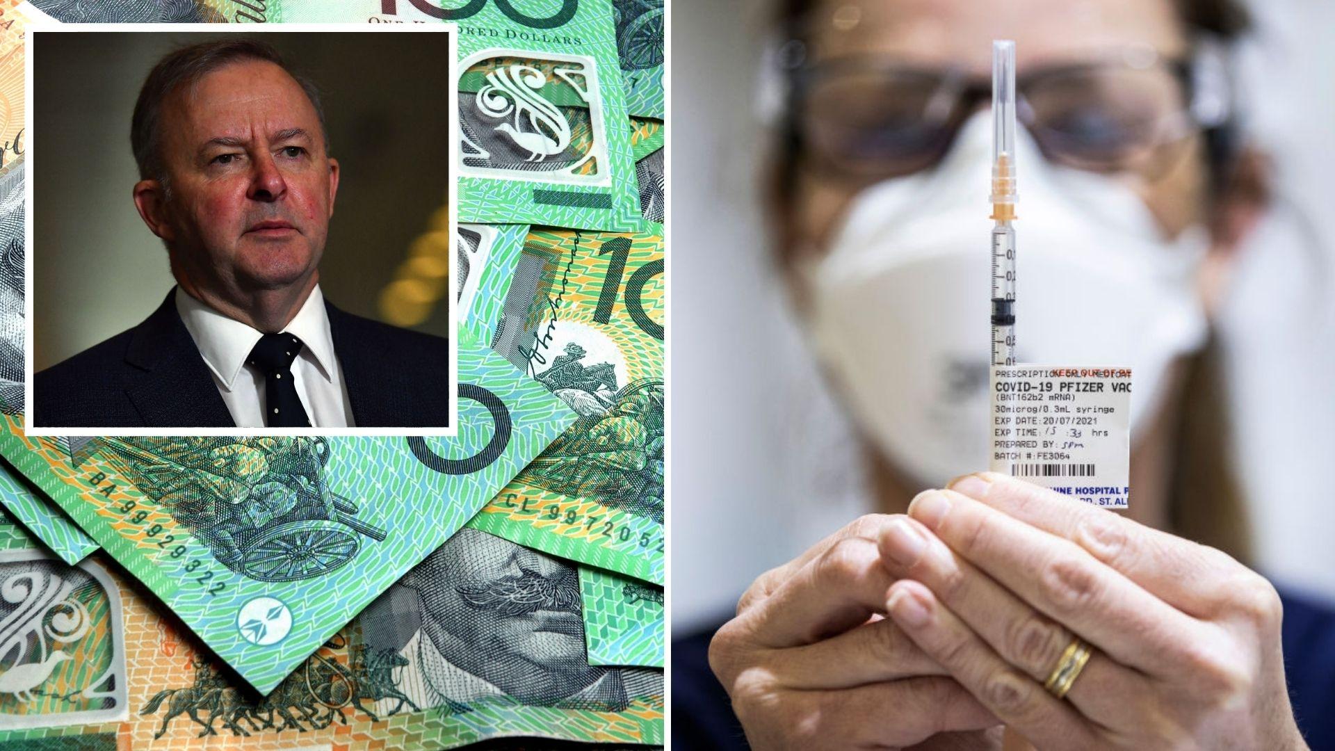 Doctors back $300 COVID-19 vaccination cash