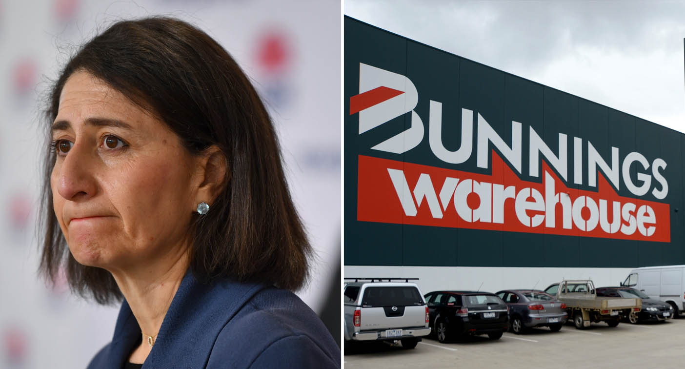 'Next question': Premier grilled on why Bunnings remains open