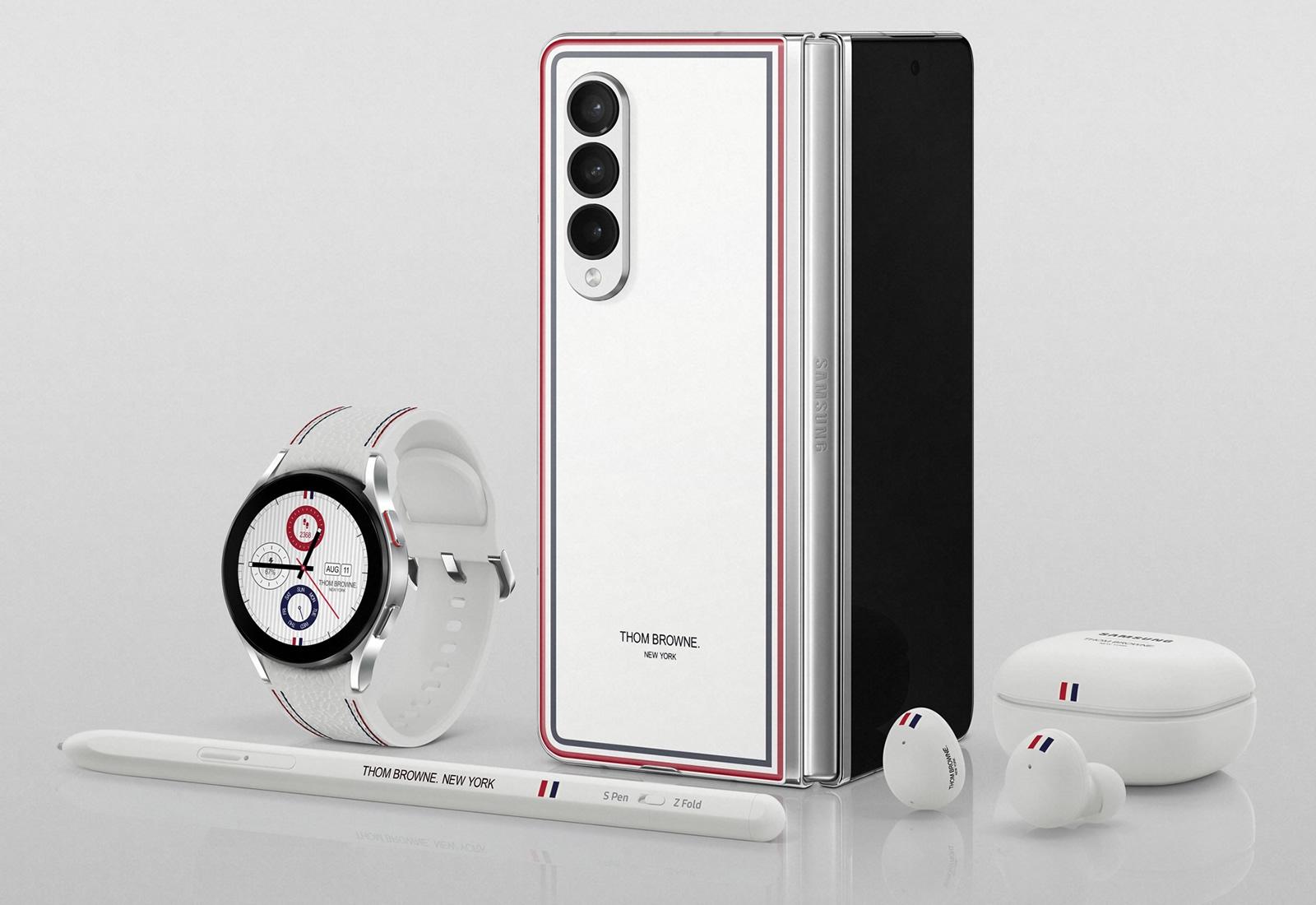 Samsung Galaxy Z Fold 3 Thom Browne Edition