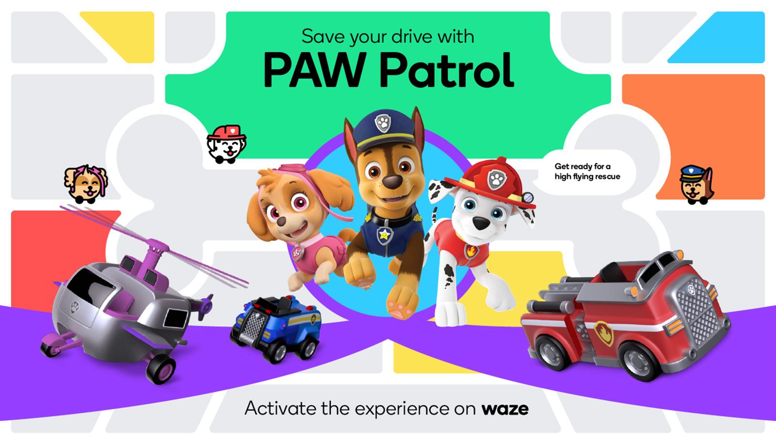 'PAW Patrol' sesleriyle Waze, soğuk bir araba yolculuğu gibi geliyor | Engadget