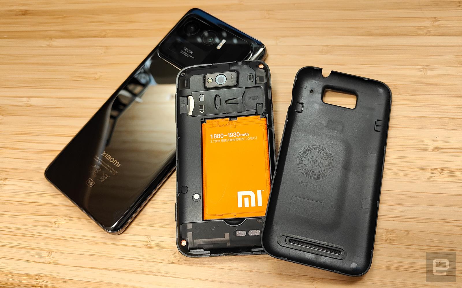 小米手機 1 & 小米 11 Ultra