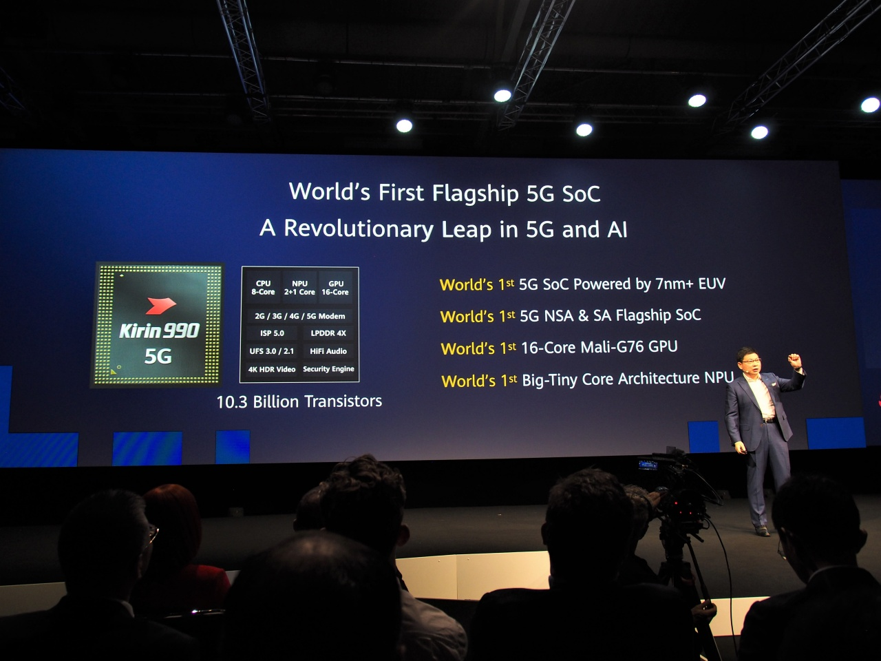 Huawei Technologies has been unable to proceed with chipset development as expected due to US sanctions, but once it developed its own chipset with enhanced machine learning processing, it was trying to differentiate itself from other companies.