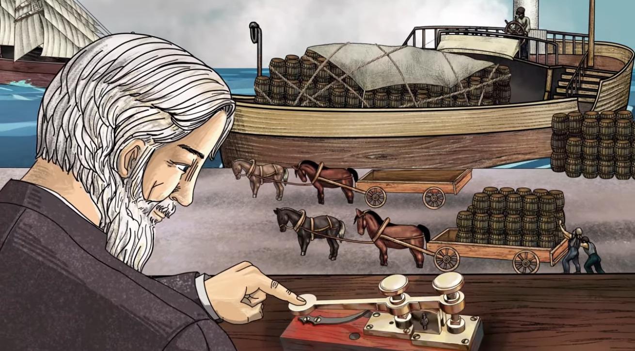Samsung's 'history of electronics' animated videos seem like great sleep aids