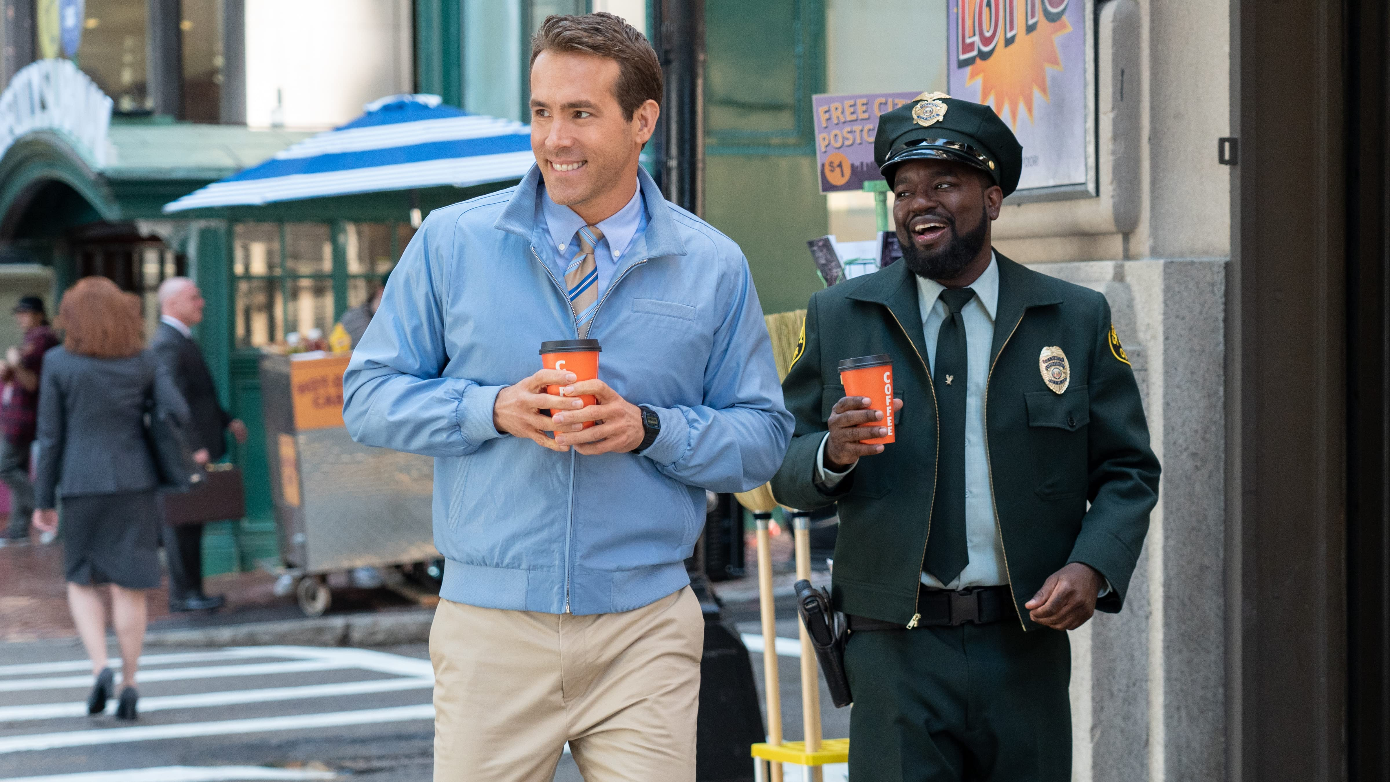 Free Guy' star Ryan Reynolds remembers early jobs that made him feel 'invisible'