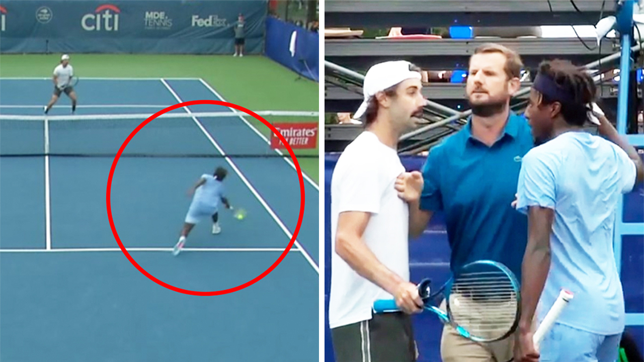 'Call the police': Aussie player's 'ugly' tennis exchange explodes