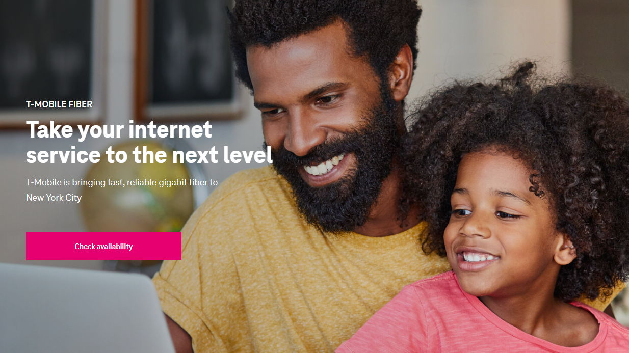 T-Mobile is selling fiber internet in a 'very limited' pilot program