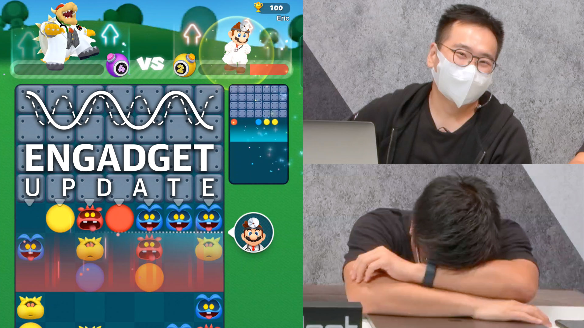 Engadget Update EP108:逆潮流,老任停運的 Dr. Mario World 真的不好玩嗎?