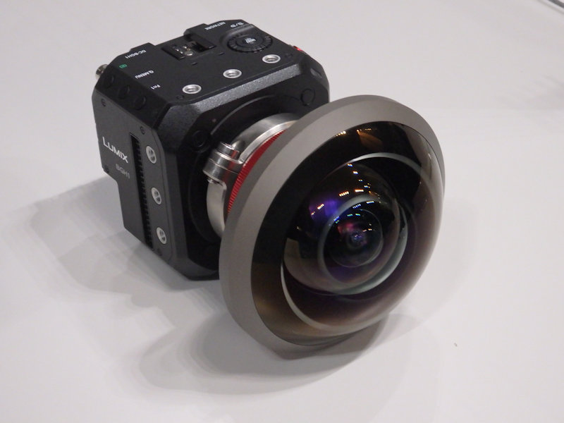 Super Wide Angle Camera   used in TOKYO 2020