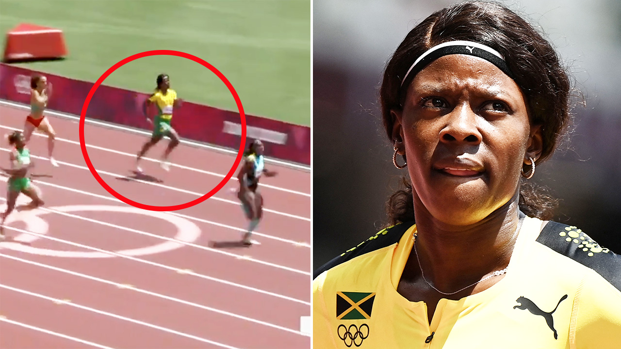 'Can't do that': Runner savaged over 'unforgivable' act at Olympics