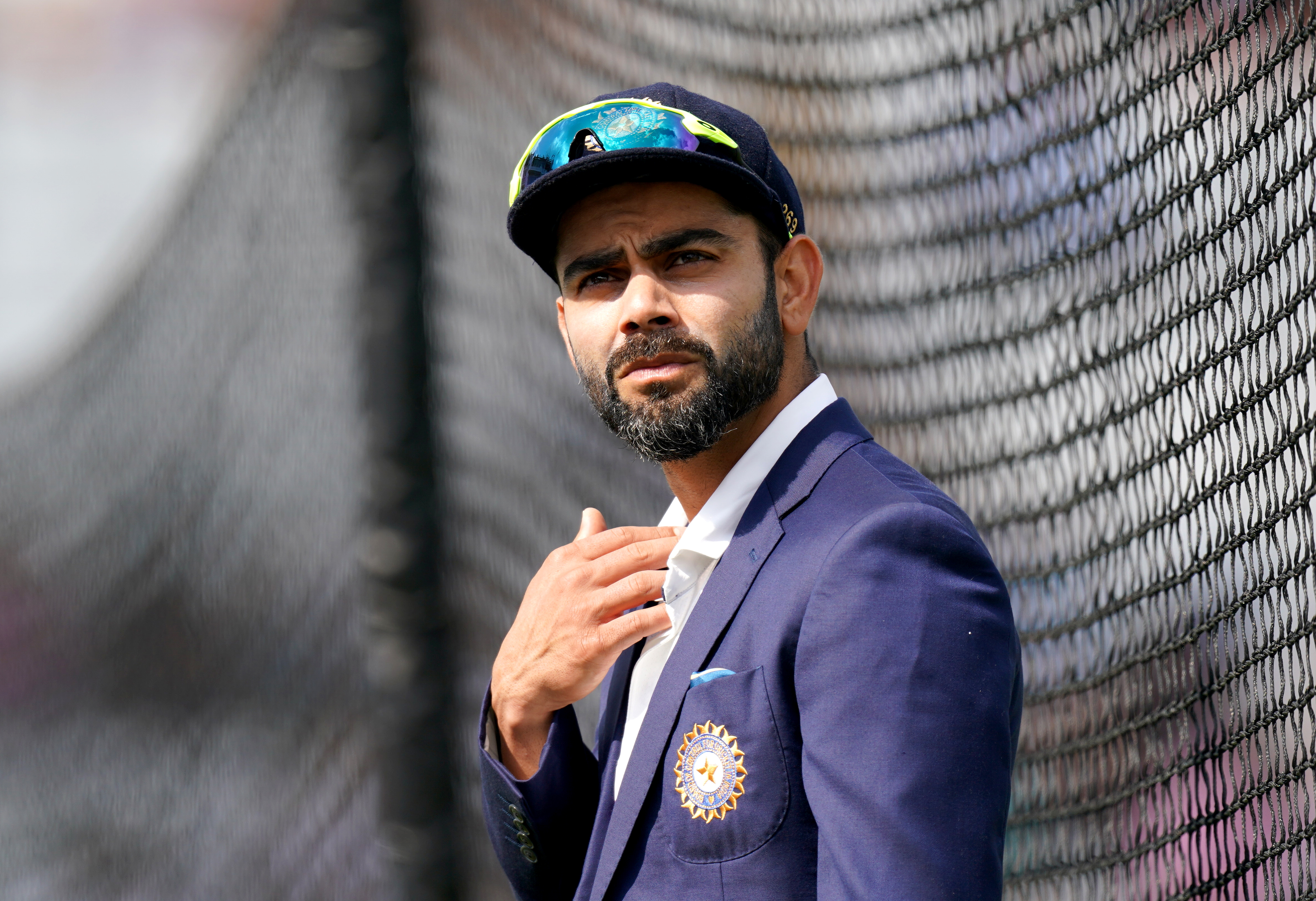 <p>India captain Virat Kohli during day one of Cinch First Test match at Trent Bridge, Nottingham. Picture date: Wednesday August 4, 2021.</p>