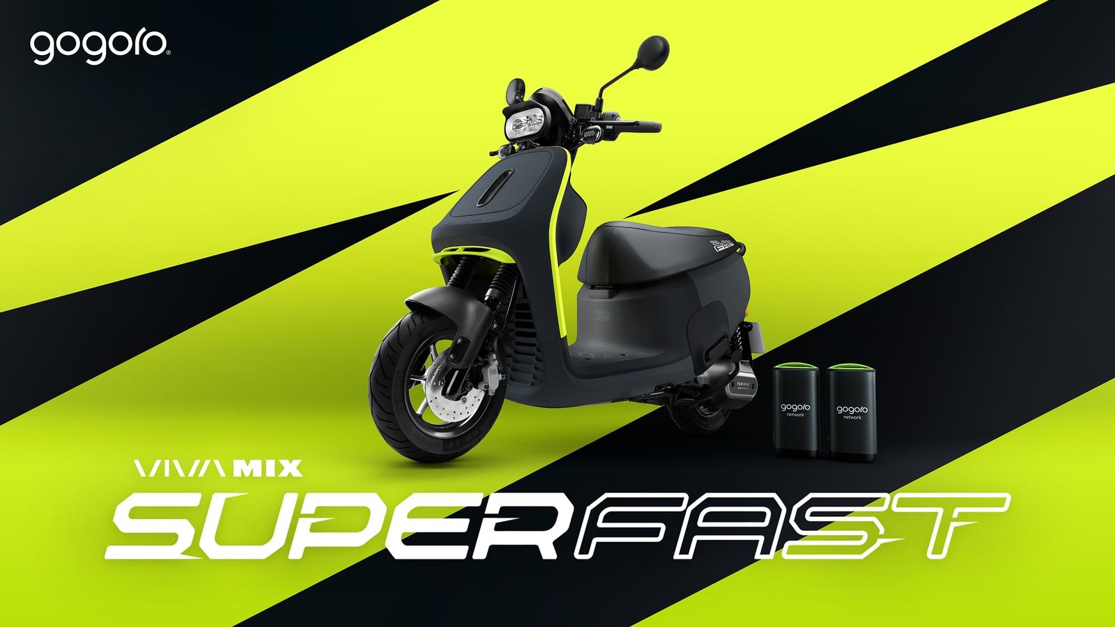 Gogoro Viva Mix Superfast