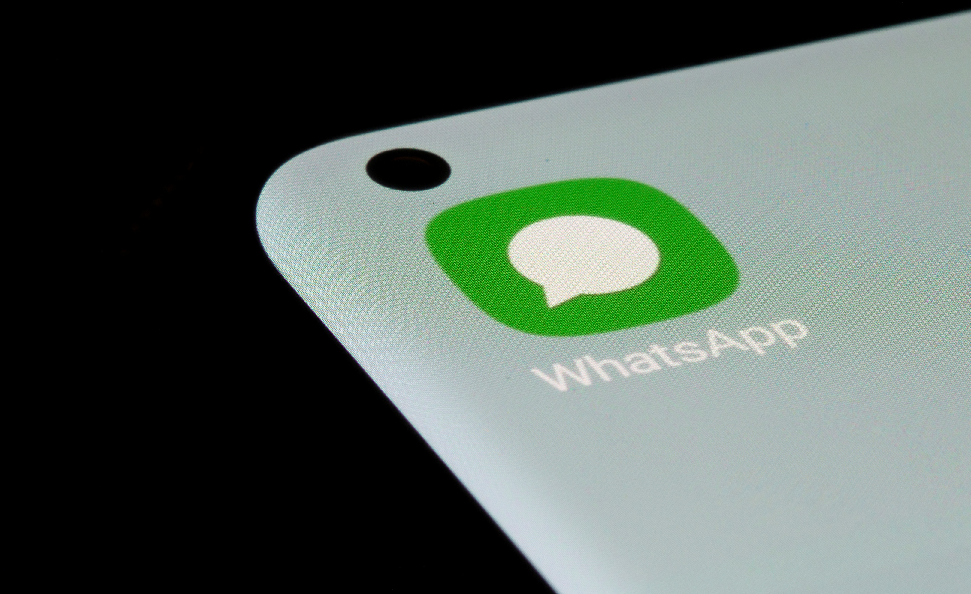 WhatsApp app is seen on a smartphone in this illustration taken, July 13, 2021. REUTERS/Dado Ruvic/Illustration