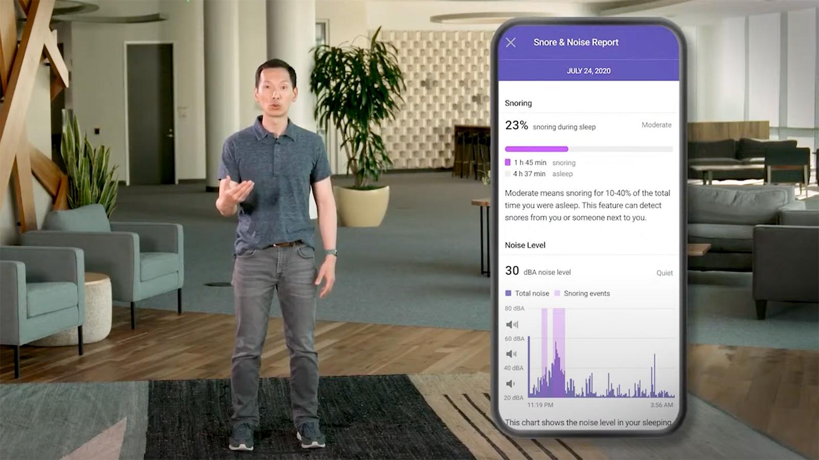 Fitbit Premium - Snore & Noise Detection