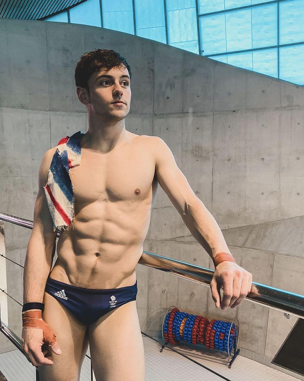 高顏值又有好身材,讓Tom Daley在奧運前就備受關注!