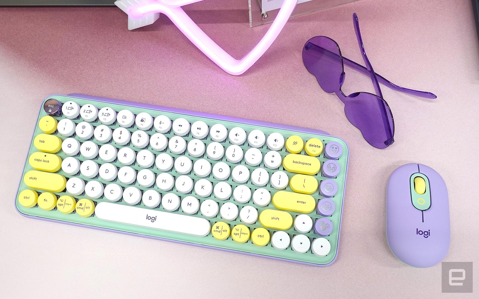 羅技 Pop Keys + Pop 鼠標